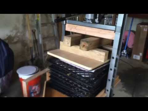 Harbor Freight Apple Press