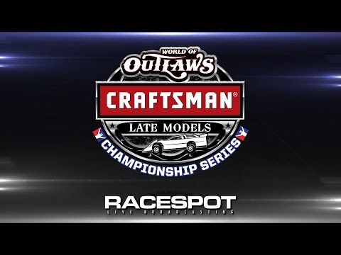 World of Outlaws Craftsman Late Model Championship Series   Round 11 at Dirt Track at Charlotte