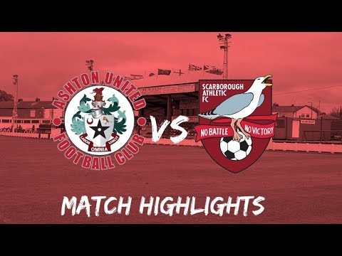 Ashton Utd Scarborough Goals And Highlights