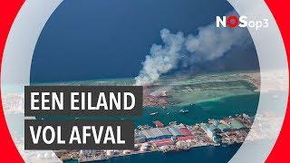 Studenten TU Delft pakken afvaleiland Malediven aan | NOS op 3