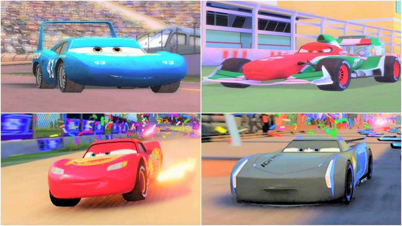 cars 1 cars 2 cars 3 the movie game hd youtube. Black Bedroom Furniture Sets. Home Design Ideas
