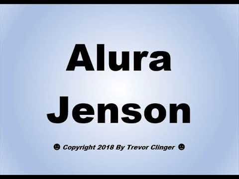 Alura Jaenson