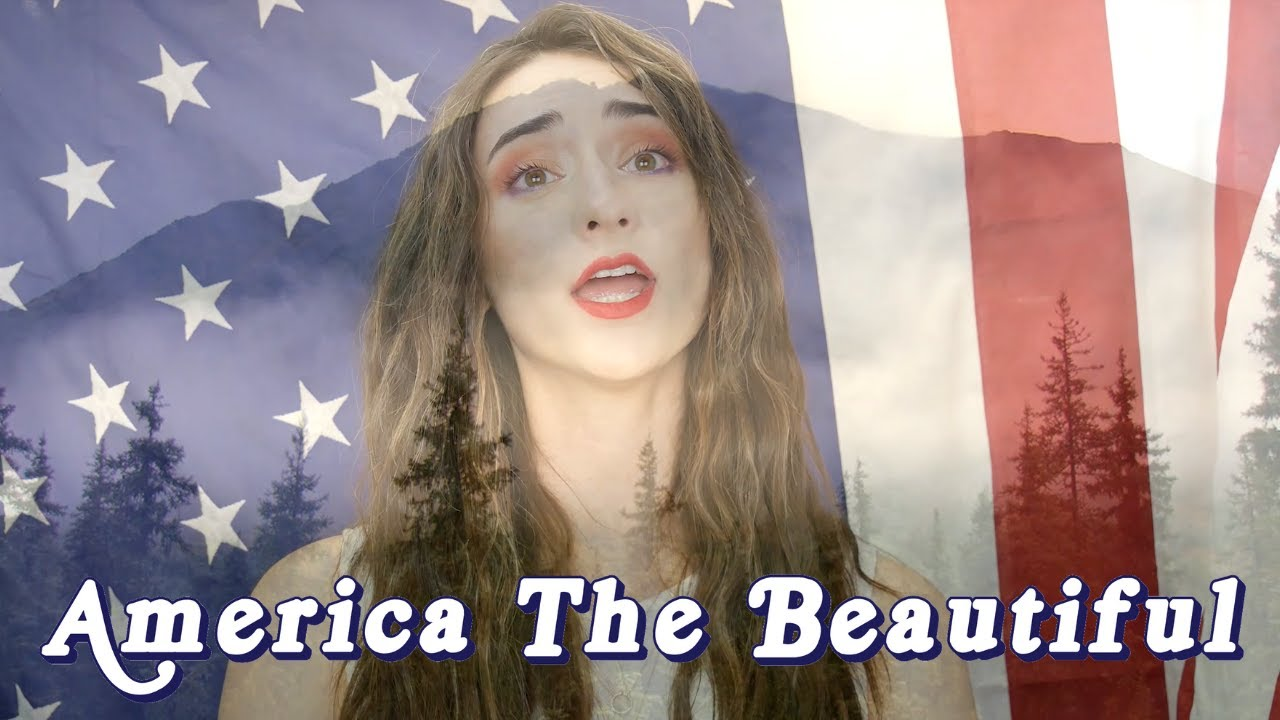America The Beautiful (Sung By An Opera Singer!) || Final Day Of PATRIOTIC WEEK!