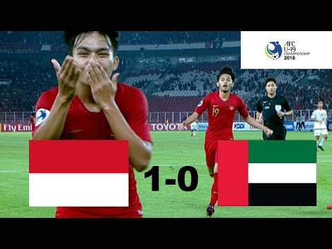 INDONESIA U-19 VS Uni Emirat Arab U-19 (AFC U-19) 1 - 0