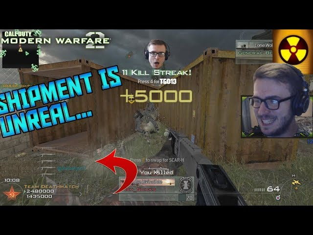 SHIPMENT IN MW2 IS AS CRAZY AS IT SOUNDS! IW4x In 2019
