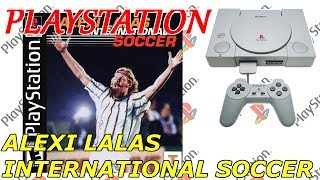 ALEXI LALAS INTERNATIONAL SOCCER (PS1) [676] GAMEPLAY
