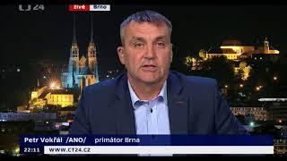 22.09.2017 CT24 Udalosti komentare Krnacova-Vokral