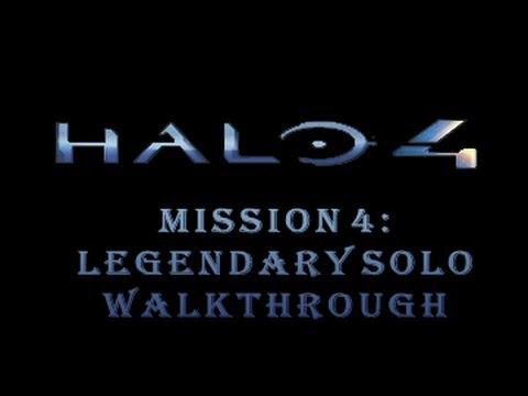 Halo 4 Mission 4 Legendary Solo Walkthrough Infinity