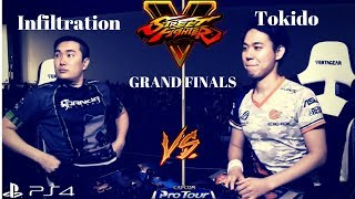 Final Round 2018: Street Fighter V AE: Infiltration vs Tokido [Grand Finals]