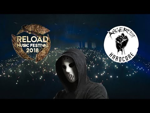 Angerfist LIVE @ Reload Music Festival 2018