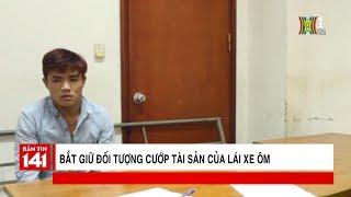 Bắt đối tượng dùng dao cướp xe ôm trên phố Nguyễn Cao Luyện, Long Biên | Tin nóng 24H | Nhật ký 141