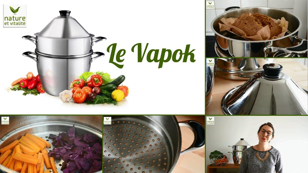 cuit vapeur douce vapok la cuisson saine moins de 95 c. Black Bedroom Furniture Sets. Home Design Ideas