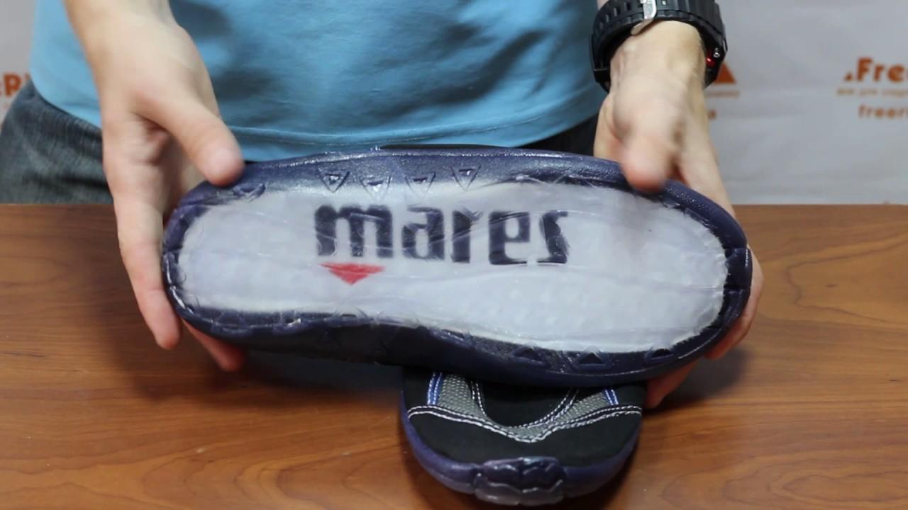 1ffdd3ba054 Обзор  Коралловые тапочки Mares AquaGrip - YouTube