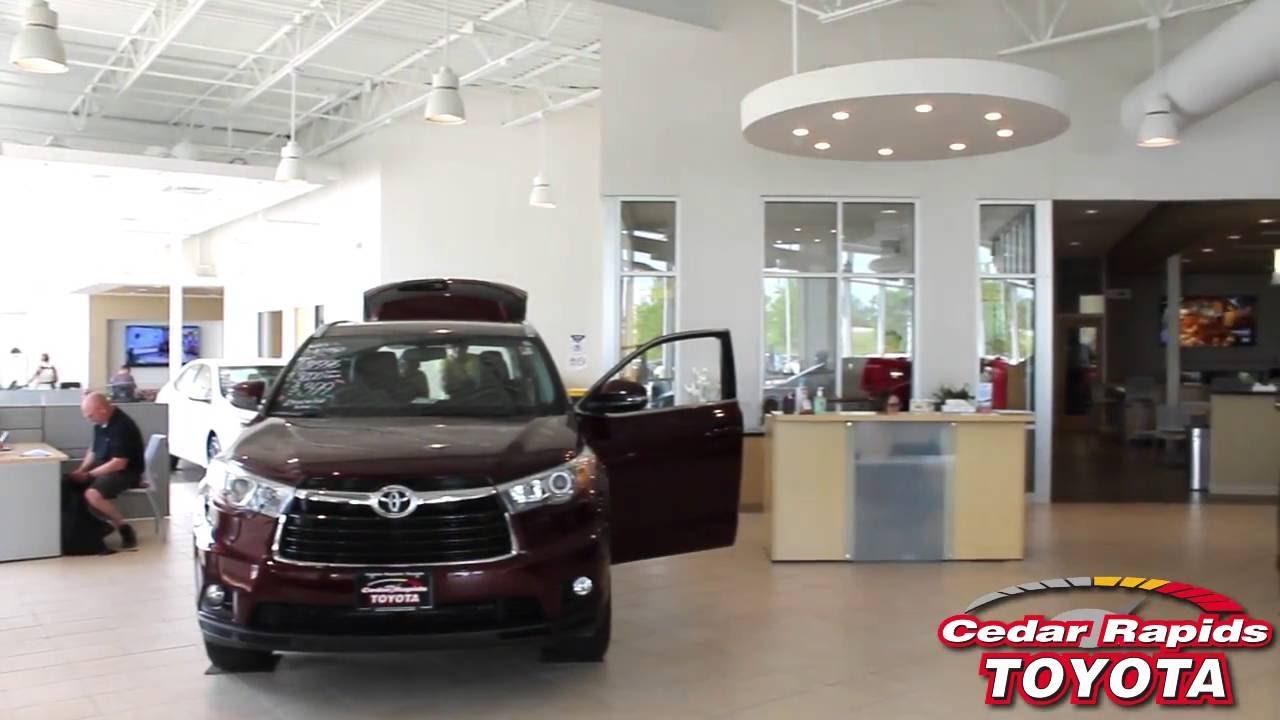 Toyota Cedar Rapids >> Service Amenities Cedar Rapids Toyota