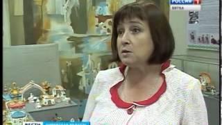 Выставка дымковской игрушки (ГТРК Вятка)
