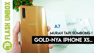 Download Video HP Triple Kamera Terbaik!? Unboxing Hands On Samsung Galaxy A7 2018 Indonesia MP3 3GP MP4