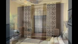 видео Японские шторы в интерьере