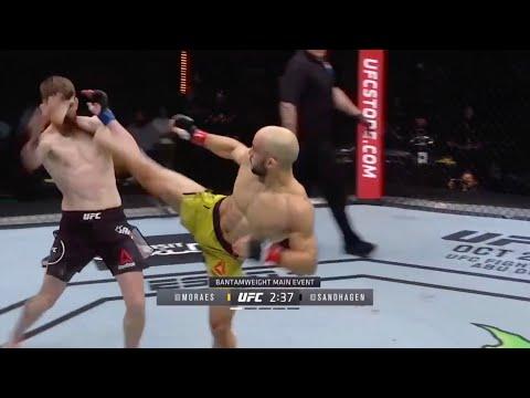 UFC Fight Night 179: Moraes vs. Sandhagen – Highlights