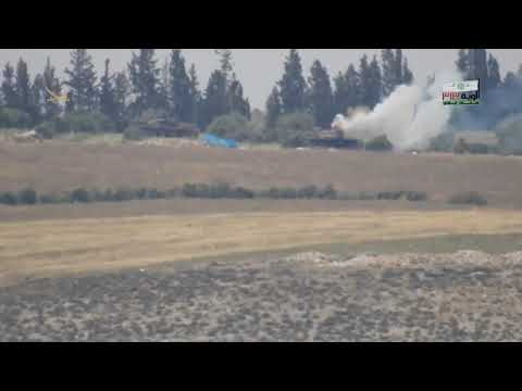 The FSA destroyed two Syrian T-72 tanks in northern Homs by TOW