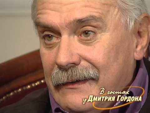 Михалков: Я люблю Путина и мне насрать на то, что думают обо мне либералы