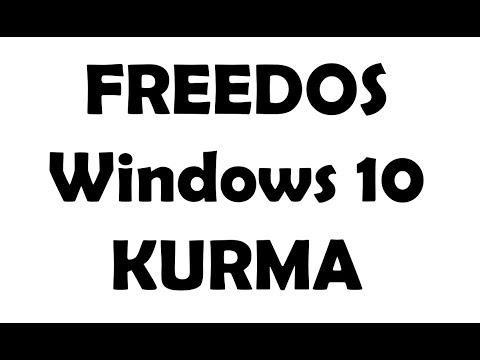 Freedos Windows 10 Kurma