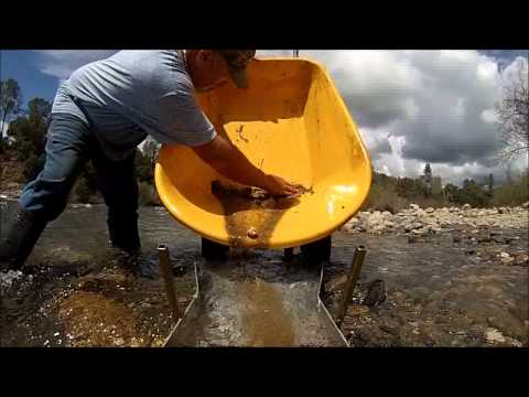 """""""gold"""" mining the southfork american river"""