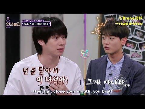 [ENGSUB] 180621 Life Bar EP76 – Heechul taking care of SHINee Key & Minho