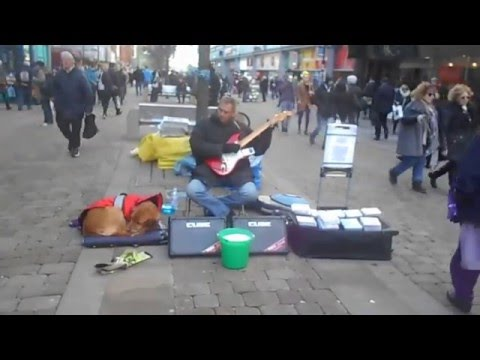 zeppelinism   ANDY -J PLAYS FOR THE MANCHESTER SHOPPERS 2016!!