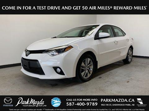 WHITE 2014 Toyota Corolla  Review   - Park Mazda