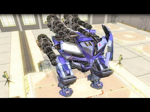 War Robots [2.9] Test Server - 3 NEW Dash Robots Full Gameplay
