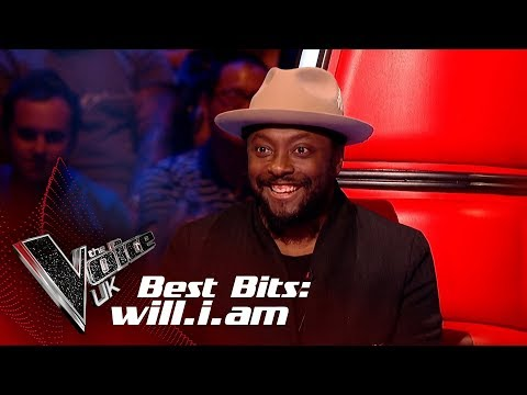 will.i.am's Best Bits of 2018!  The Voice UK 2018