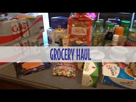 Grocery Haul | 17 Day Diet Cycle 1 Meal Plan | April 26, 2017