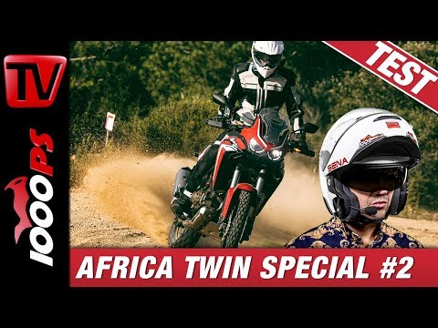 Honda AfricaTwin 2020 - Test im Gelände und auf Strasse - CRF1100L Special Folge 2/4