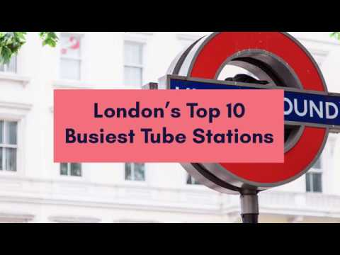 Top 10 Busiest London Tube stations
