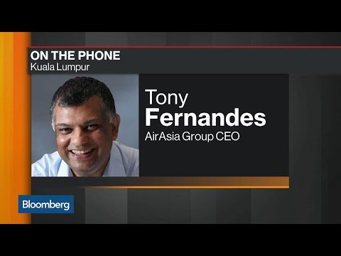 AirAsia's Fernandes on Earnings, Leasing Company Sale, China