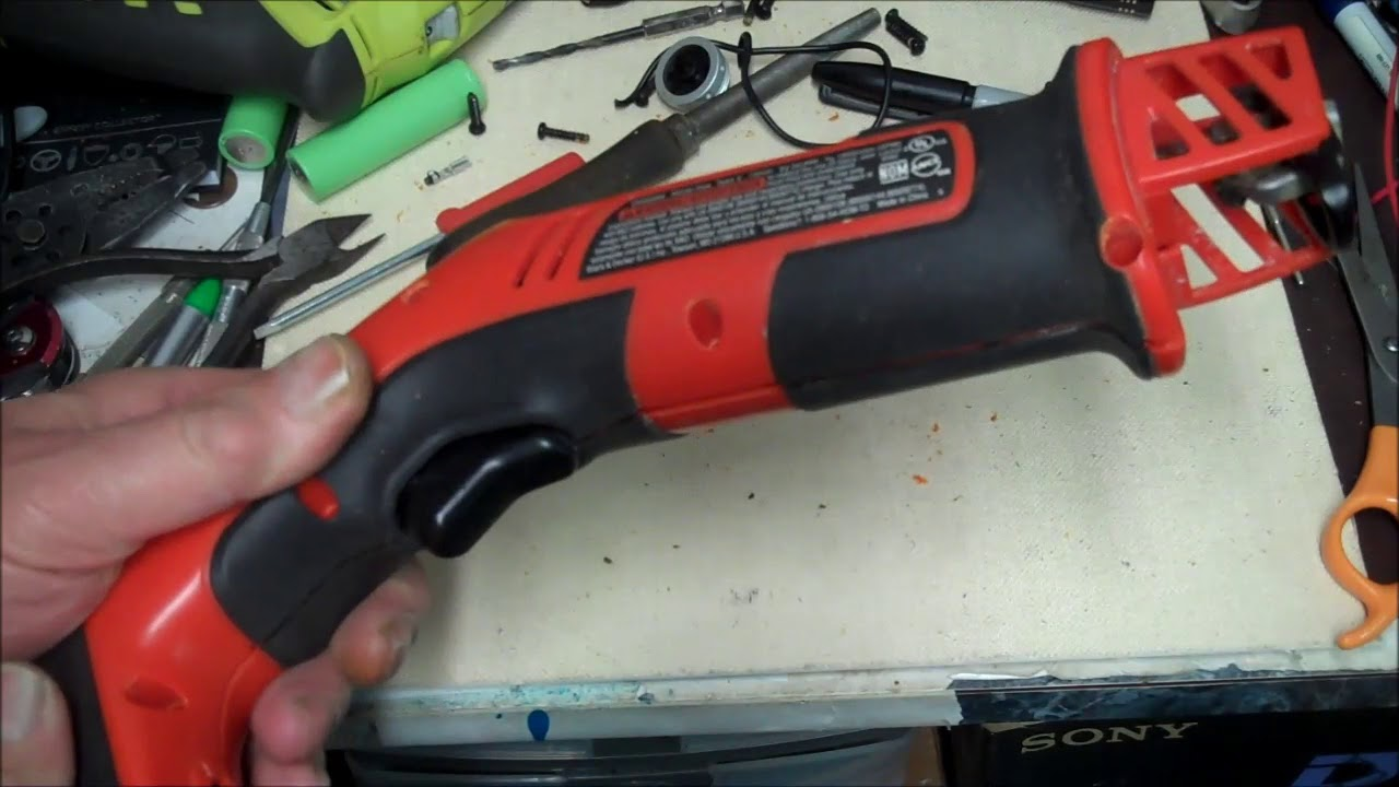 Black And Decker Handisaw Battery Upgrade New Life For Old Tools Youtube