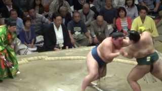 20130928 大相撲秋場所14日目 豪栄道 vs 高安.
