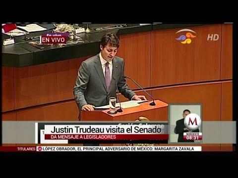 Discurso de Justin Trudeau en el Senado
