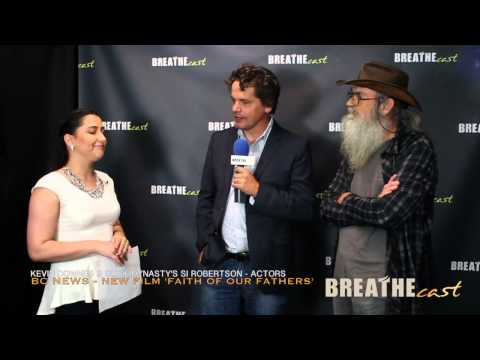 Duck Dynasty's Si Robertson & Actor Kevin Downes on 'FAITH OF OUR FATHERS'
