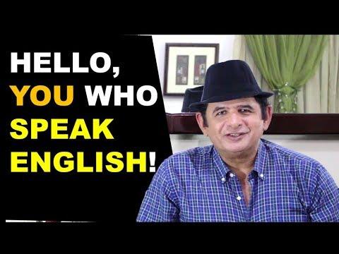 Hello you who SPEAK ENGLISH Watch this  of Júlio Hatchwell