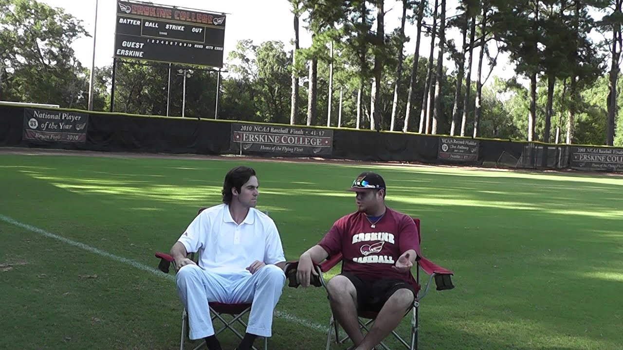 Interview with Zach Smith, Erskine Baseball Player - YouTube
