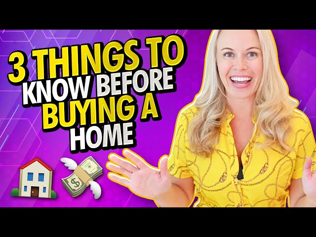 3 Things To Know Before Buying a Home In 2021 - Home Buying Mistakes To Avoid That'll Cost You $$$