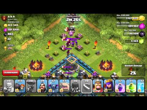 Clash of Clans - Quest to 4000 Trophies #11: GoWiPe Wreckage!