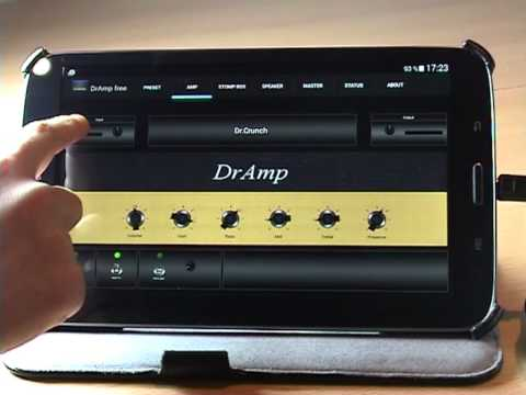 DrAmp - Android Guitar Amp - How To Use