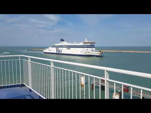 P&O Ferry Calais