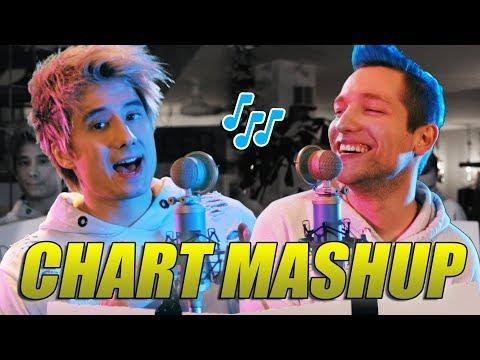 14 Chart Songs in 1 - Mashup mit Rezo | Julien Bam