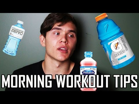 Tips for Training in the Morning Early Morning Workout Advice