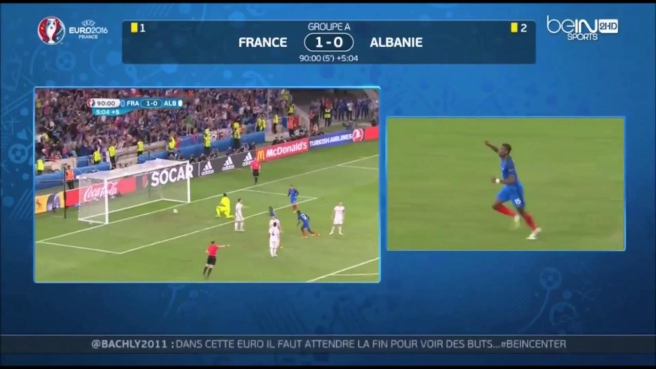 Euro 2016 : France vs Albanie : [2-0] le résumer des buts HD - YouTube