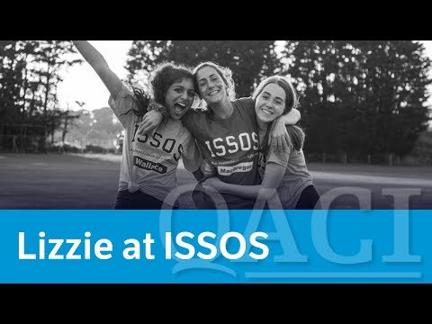 Lizzie's ISSOS Experience At St Andrews (QACI Blog)
