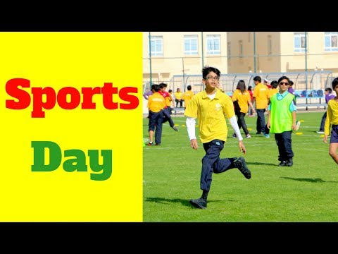 Al Khor Sports club sports day 2018 in Qatar with school games, activities & celebration DJ Patel